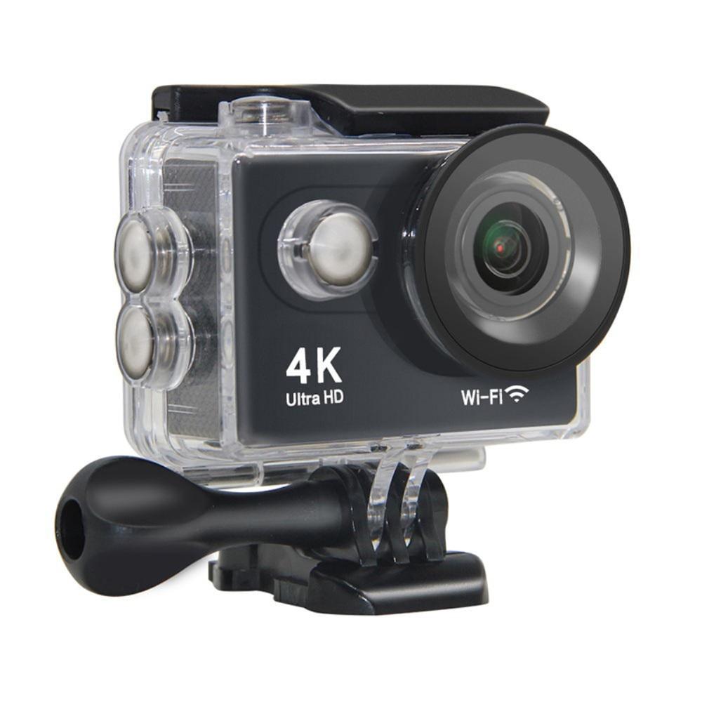 Galleria fotografica 4K WIFI Outdoor Action Camera Ultra HD Mini Cam 2 Inch LCD Screen Underwater Waterproof Video Camcorder Sports Cameras