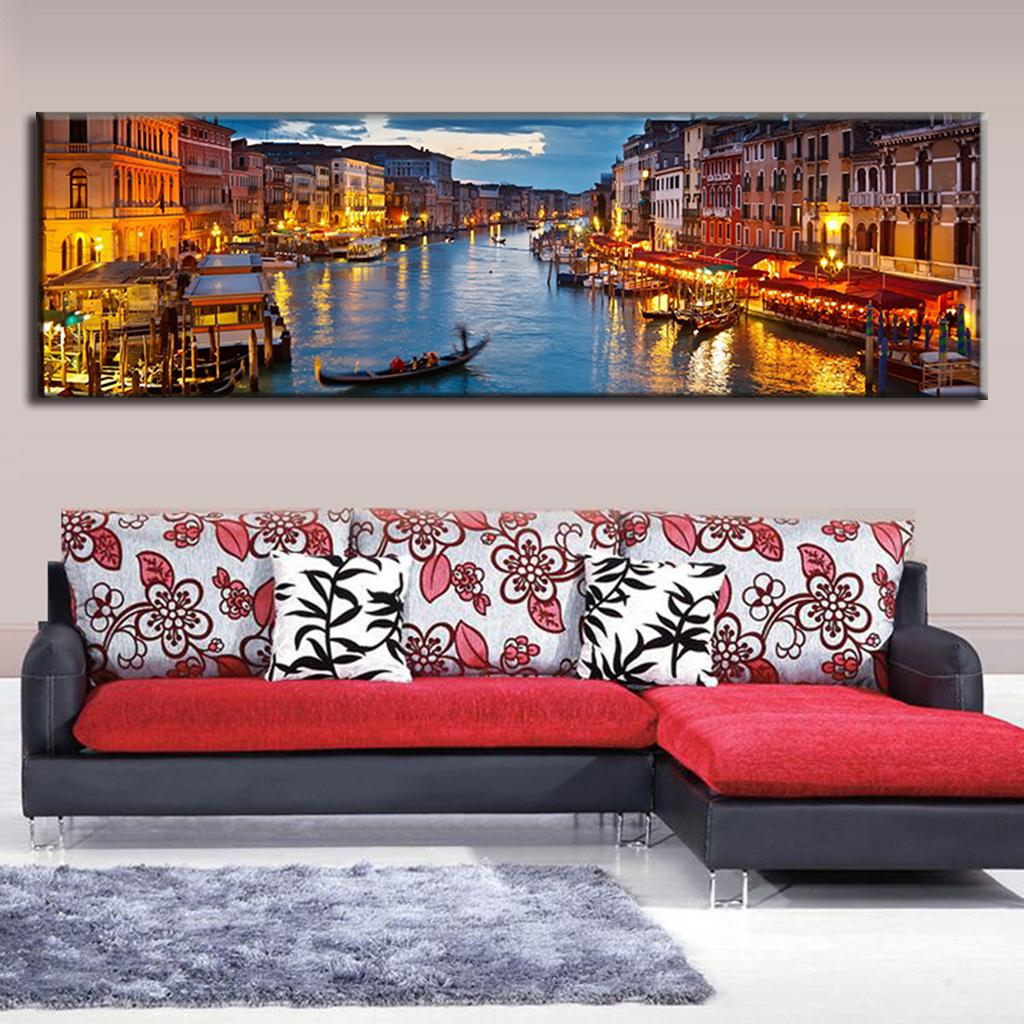 Large Canvas Paintings Wall Art Landscape Painting The ...