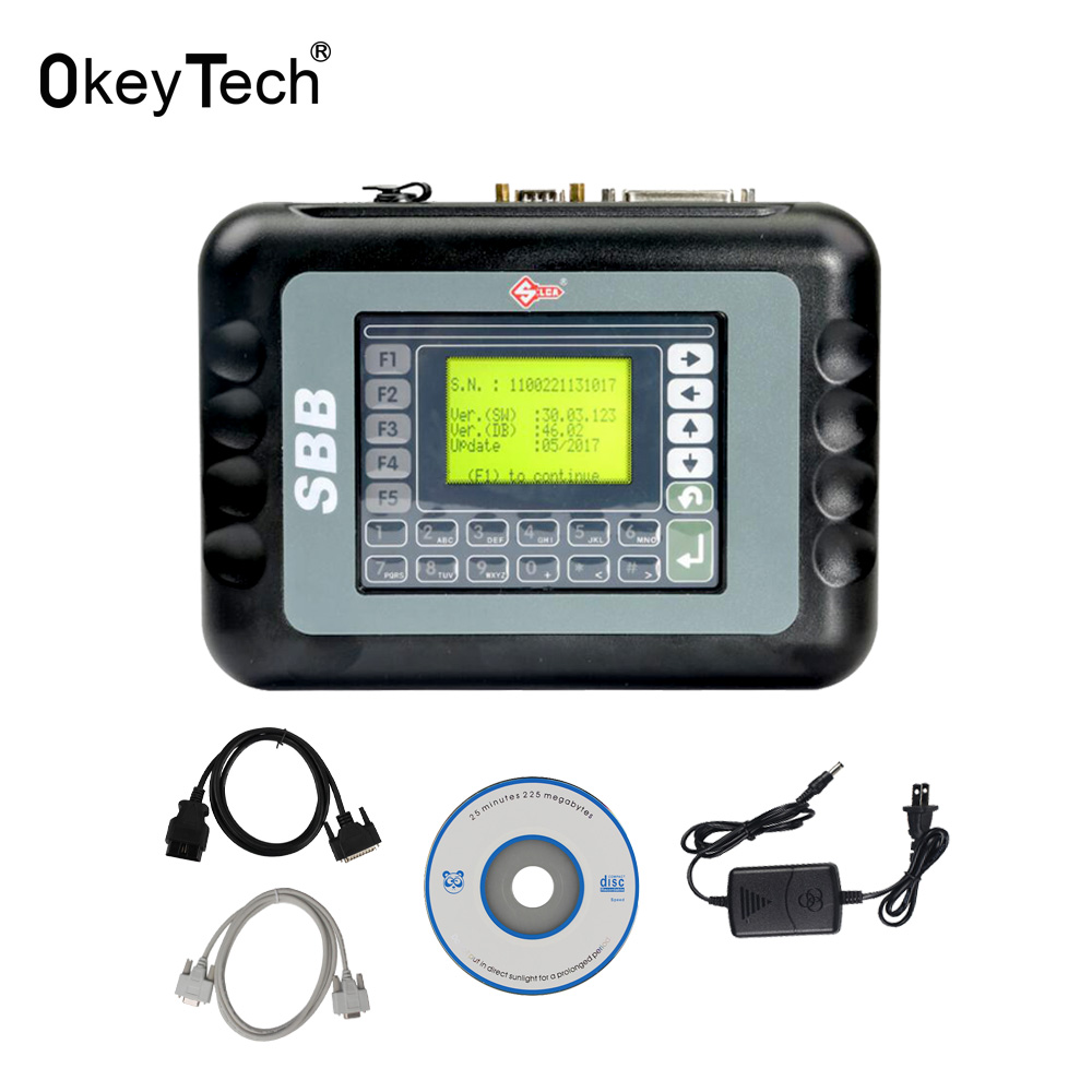 OkeyTech SBB V46.02 Auto Key Programmer Tool 2018 Latest Version 46.02 Silsa SBB OBD2 Key Maker for Toyota G Chip Multi Language-in Auto Key Programmers from Automobiles & Motorcycles