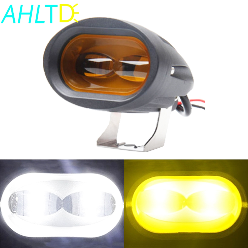 Bright 6D 20W LED Work Light Bar Car Driving Fog Spot Offroad Lamp Vehicle Truck SUV ATV Led Retrofit Styling