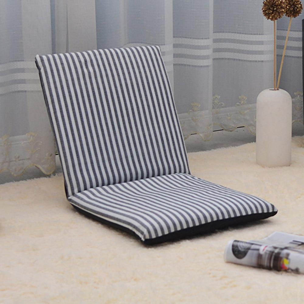 Складной пол хлопковый стул регулируемый расслабляющий ленивый диван сиденье Подушка шезлонг удобный шезлонг кресло Современный домашний...