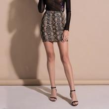 3968be1580e3 WITHZZ Spring Summer Women's Skirts Sexy High Waist Leopard Print Skirt  Pencil Mini Harajuku Boho Faldas