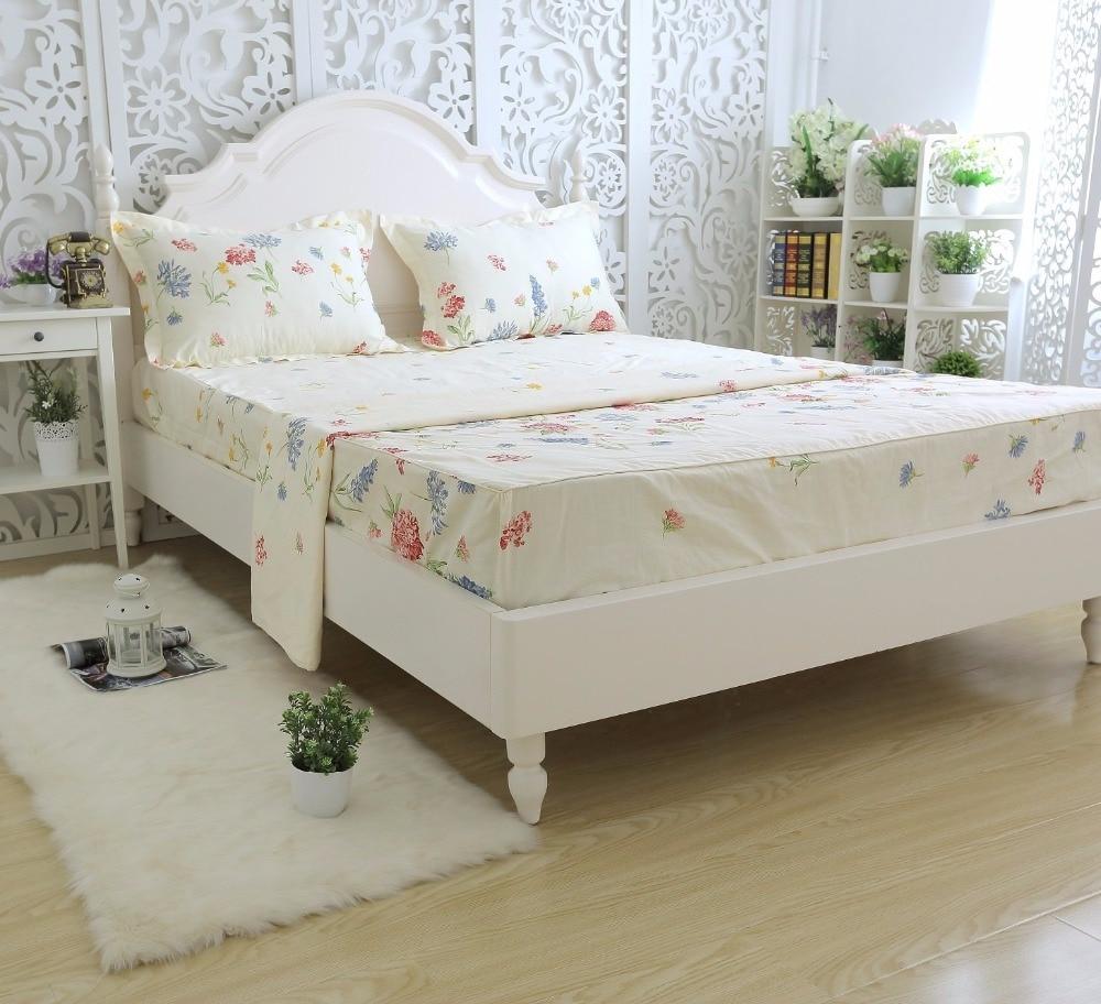 Floral Bedding Girls Bed Sheet Set Romantic Sheets Set Deep Pocket