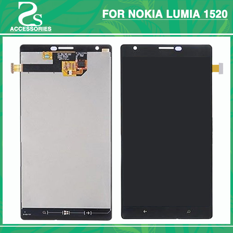 For Lumia 1520 LCD Touch Screen For NOKIA Lumia 1520 LCD Display With Touch Panel Sensor Glass Digitizer AssemblyFor Lumia 1520 LCD Touch Screen For NOKIA Lumia 1520 LCD Display With Touch Panel Sensor Glass Digitizer Assembly