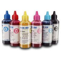 Sublimation Ink Universal Sublimation Ink For Epson 1390 1400 1500W 1410 1430 L800 L1800 Printers Heat Transfer Ink Heat Press