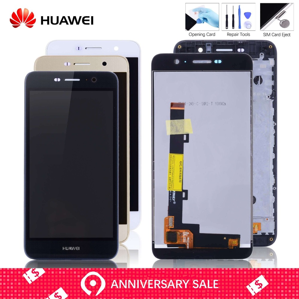 f73b45ab9 Barato LCD Para HUAWEI Honor 4C Pro TIT L01 Display Tela Touch Frontal Com  Aro Completo