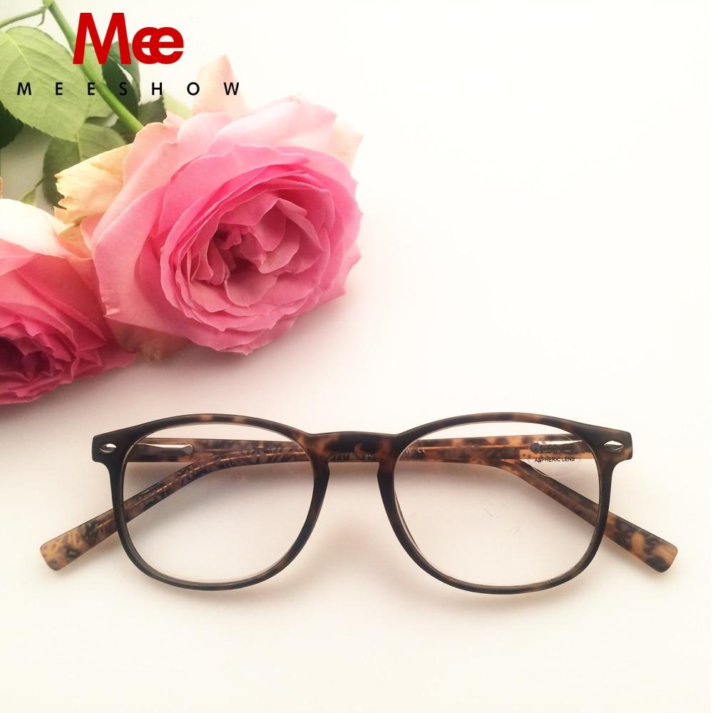 cf3b322b14b MEESHOW NEW fashion Reading glasses High quality CP injection eyeglasses  men women +1.5 Tortoise reading