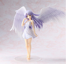 "Angel Beats! Tenshi Kanade Tachibana Good Smile ver Limited 1/8 7.8""/20cm PVC Action Figure Toy"
