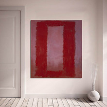 100% handpainted Mark Rothko Classical Oil Painting Home Decor Canvas oil Painting art Picture Room Modern Wall Living No Frame handpainted mark rothko classical oil painting for living room wall art canvas decorative pictures no frame