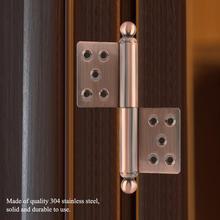 цена на Stainless Steel Door Hinges Ball Bearing Replacement Door Hinge Home Door Furniture Hardware Accessories charniere inox