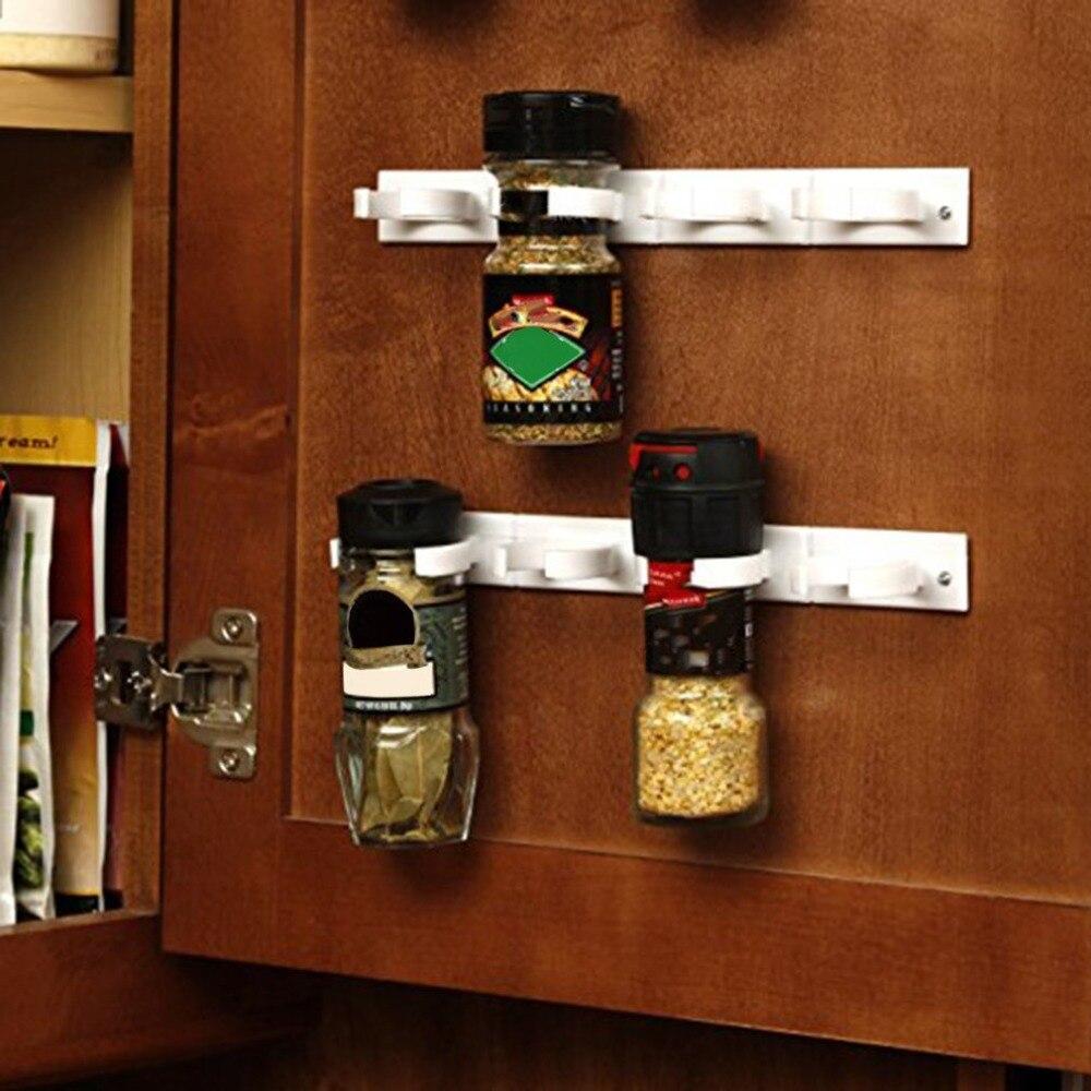 Kitchen Store Spice Organizer Lightweight Storage Rack Shelf Rack Kitchen Spice Seasoning Carrier Bottle Holder Gripper