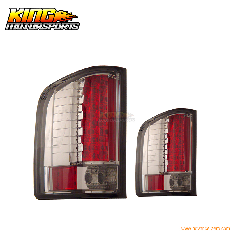 For 2007-2009 Chevy Silverado Half-Up LED Tail Lights Smoke 08 USA Domestic Free Shipping 1 6 scale mens head sculpt for 12 inches male bodies dolls figures collections toys gifts