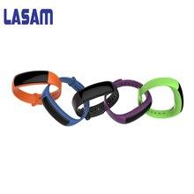 Lasam Bluetooth Smart Браслет Часы Приборы для измерения артериального давления сердечного ритма Мониторы Шагомер сна Мониторы Фитнес трекер