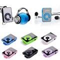 Promoción grande Espejo Portátil reproductor de MP3 Mini Clip Reproductor de MP3 resistente al agua deporte reproductor de música mp3 walkman lettore mp3