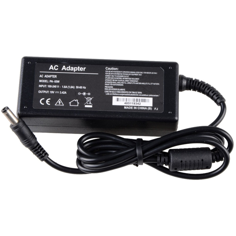 Notebook Computer Replacement Laptop Adapter 19V 3.42A 65W Fit For Asus R33030 <font><b>N17908</b></font> <font><b>V85</b></font> Power Supply Charger Vcc05 image