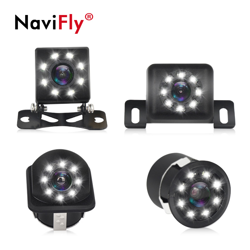 Navifly Car Rear View Camera Auto Monitor CCD Waterproof Universal Backup