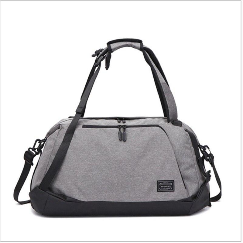 Livraison gratuite Portable sac de Sport à bandoulière sac à dos de Sport séparé chaussures de stockage sacs de Fitness hommes femmes voyage sac de Sport sac à dos