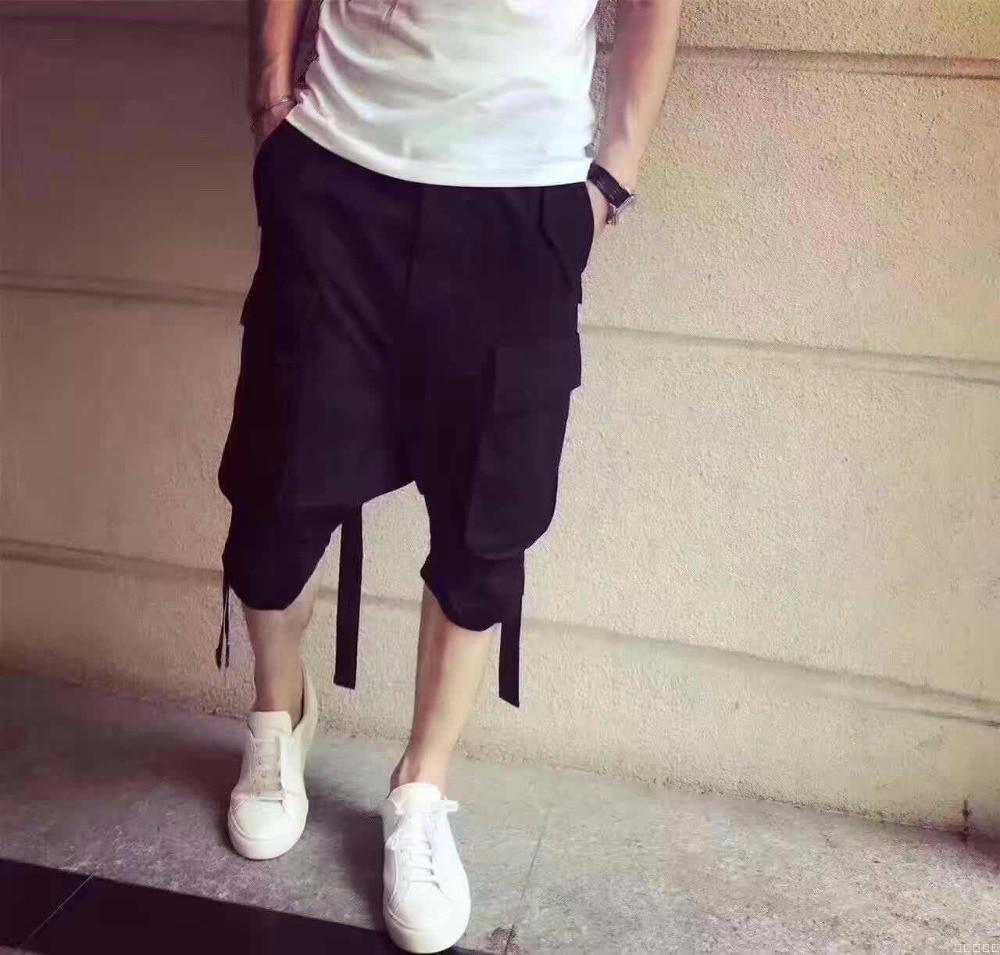 La 2019 Etapa Verano Nueva Japonés Coreana Los Personalidad Siete Harem Casuales Pantalones Versión 42 blanco 27 Negro De Rendimiento Hombres nRa5xInq