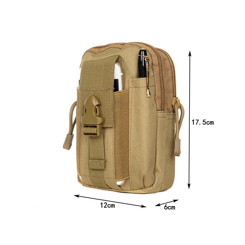 Ultimate Sale±Tactical Wallet Phone-Bag Molle Military for Trail Running Outdoor Camping Climbing Case-Pocket
