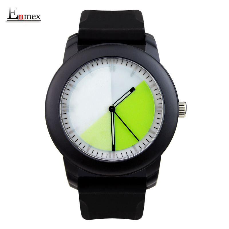 2017Lady gift Enmex design silicone strap creative Changing patterns dail japanese-style simple quietly elegant quartz watches 2017lady gift enmex design silicone strap creative changing patterns dail japanese style simple quietly elegant quartz watches