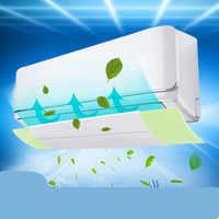 Protector de viento retráctil de aire acondicionado de soplado directo, piezas de aire acondicionado de escape deflector de viento