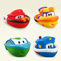 2 pçs/lote 3 estilos de sassy brinquedos do banho do bebê crianças criança inspire a imaginação da cidade do porto play barcos de água presente de natal para os meninos meninas