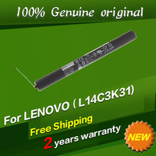 original L14C3K31 battery for lenovo YOGA Tablet 2 YT2 1050F YT2 1051F L14d3k31 L14D2K31 batteria batterie