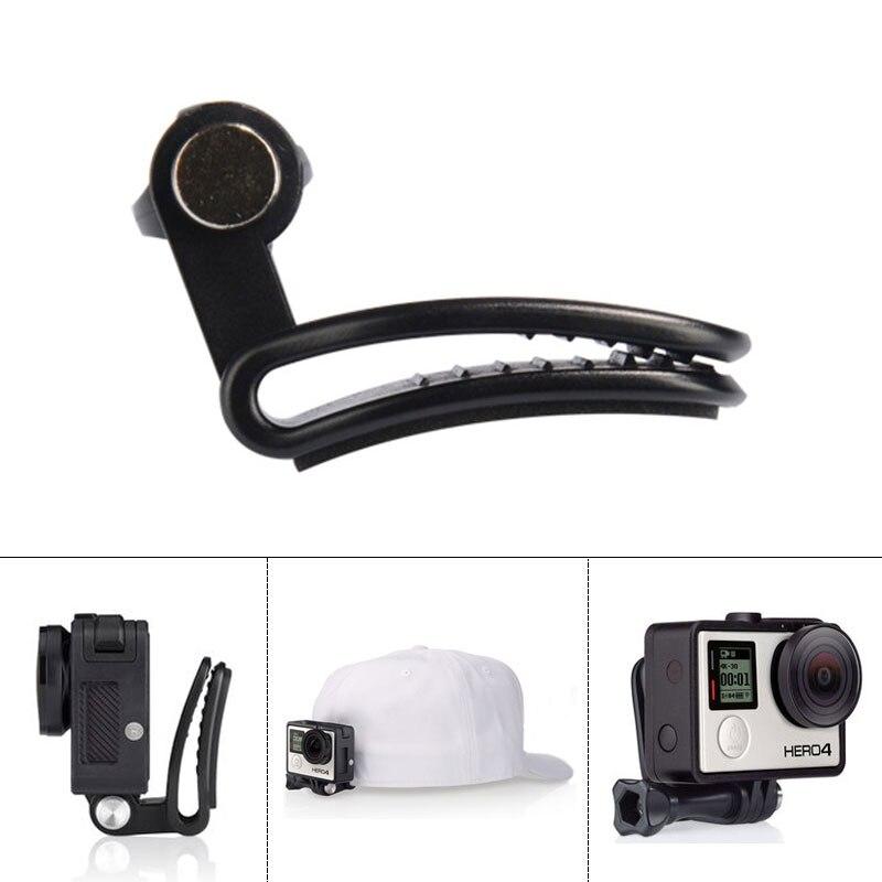 Go Pro Travel Quick Clip mugursoma saspraudes stiprinājums ar skrūvi GoPro Hero 5 4 3+ SJ4000 Xiaomi Yi 4K Eken H9 H9R aksesuāri