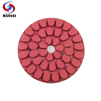 5FP3 125mm 5 Granite Polishing Pads Thickness 6 Mm Concrete Polishing Pad Choose Grit 30