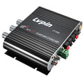 NEW Black 12V Mini Hi-Fi Amplifier Booster Radio MP3 Stereo for Car Motorcycle Home