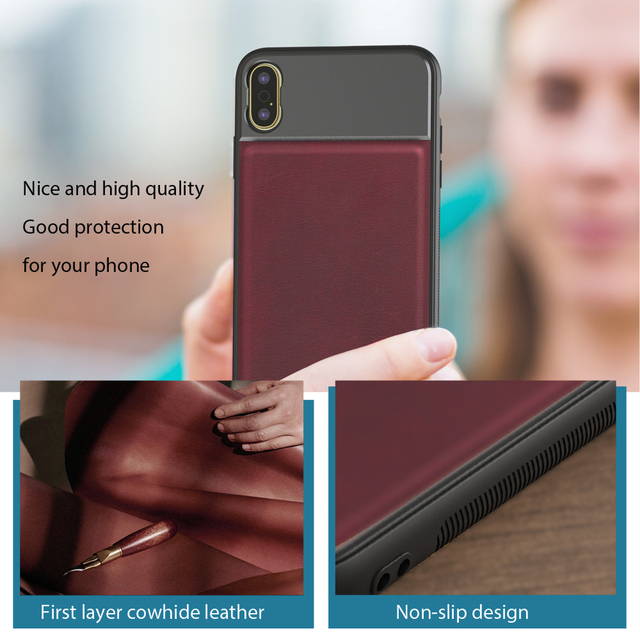 APEXEL High Quality Aluminum alloy+Leather Phone case with 17mm thread for iPhone X XS max Huawei p20 p30 pro for phone lenses 1