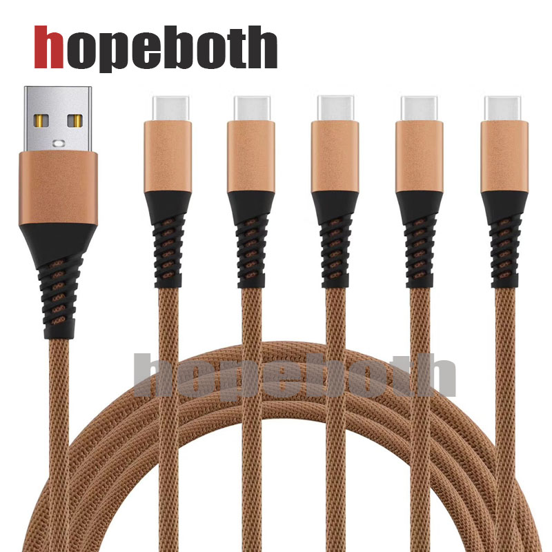 10pcs/lot USB Type C Cable For Samsung S9 USB Charging Cable To Type C Fast Charge Data Cable For Huawei P10 Switch USB-C