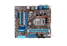 Оригинальные платы для p7h55-m Le LGA 1156 DDR3 i3 i5 i7 плата H55 полностью интегрированной H55 настольная материнская плата Бесплатная доставка