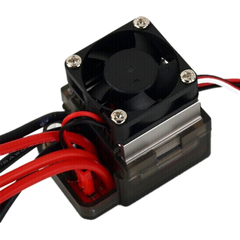 7.2V-16V 320A High Voltage ESC Brushed Speed Controller RC Car Truck Buggy Boat 320a waterproof rc boat esc eletric speed controller for rc crawler car boat regulator spare parts 7 2 16v with fan two motors