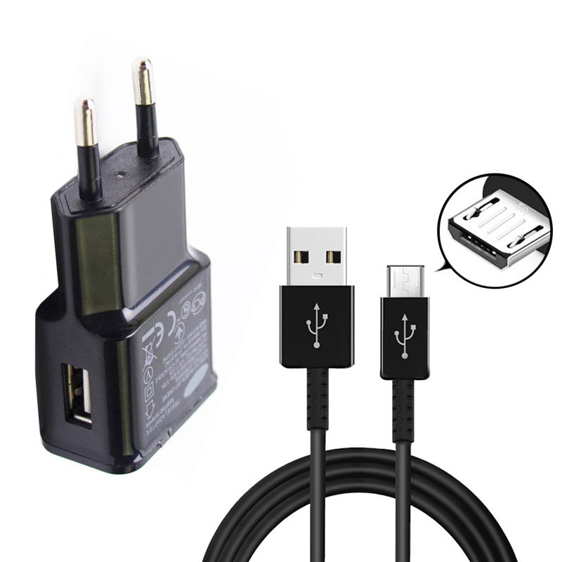 Best Offer #4e03c Micro USB Wall Charger Adapter For