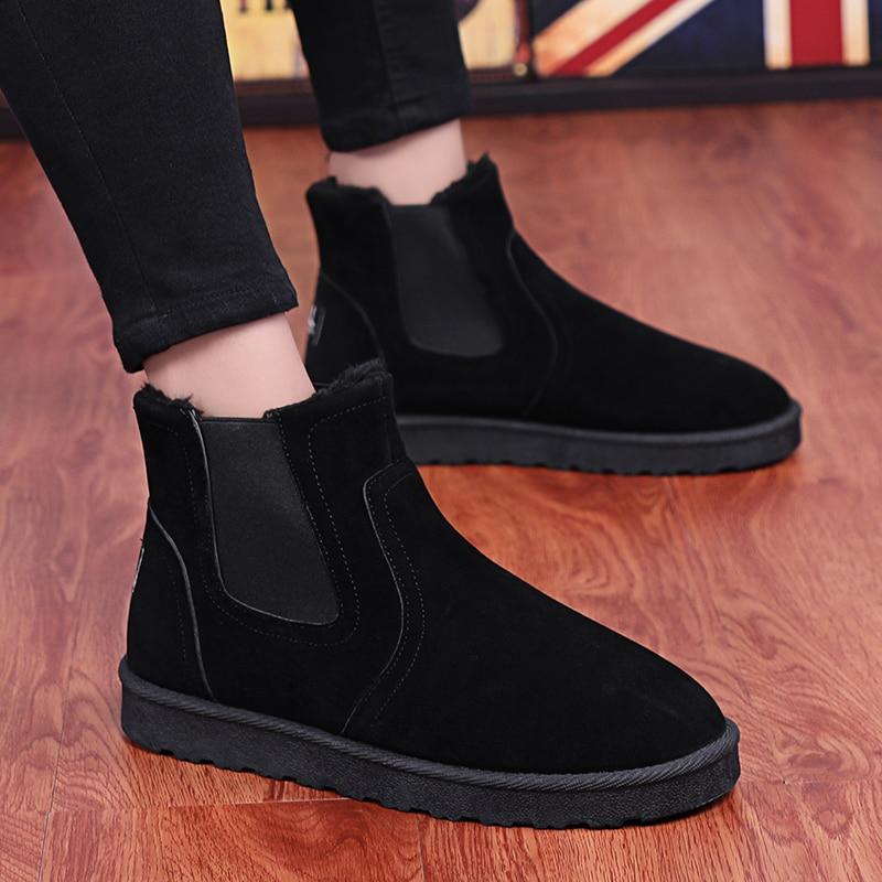 Suave Invierno gris Cómodo Nueva marrón Masculino Negro Moda Hombre Peluche Y Sapatos Zapatillas Hombres Zapatos De Casuales Otoño p1Rwxq