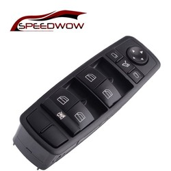 SPEEDWOW 2518300290 energii elektrycznej podwójne okno sterowania przełącznik przycisk dla Mercedes W164 GL320 GL350 GL450 ML320 ML350 ML450
