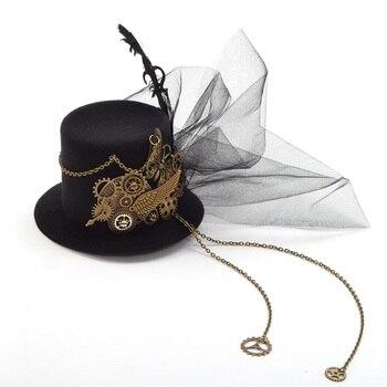 Стимпанк шляпка модель 12 1