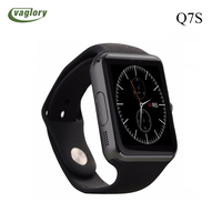 Bluetooth Smart Watch Q7S Smartwatch Watch Phone Support SIM TF Card with Camera for Android IOS PK U8 gt08 IWO 3 iwo 5