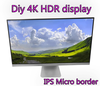 100% NEW original DIY 4k HDR 27 LM270WR3 16:9 metal shell display ps4 xbox screen IPS Micro border