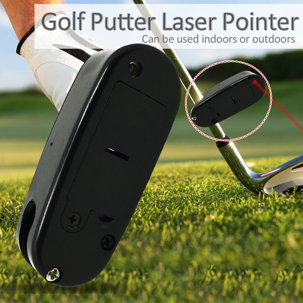 Golf Accessories Golf Putter Laser Pointer Putting Training Aim Line Corrector Improve Aid Tool Practice golf putting mirror alignment training aid swing trainer eye line golf practice putting mirror large golf accessories