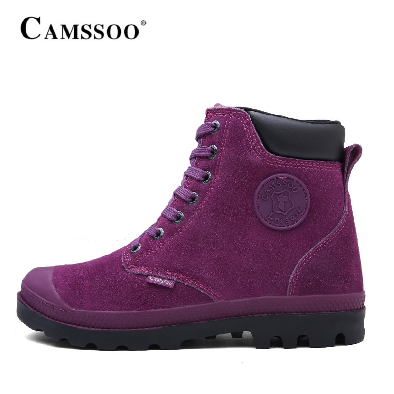Camssoo Outdoor Hiking Boots Women Warm With Fur Climbing Mountain Shoes Winter Women Outdoor Shoes  B2842 learn han lee ab mutalib nurul syakima and kok gan chan novel bacteria discovery mumia flava gen nov sp nov