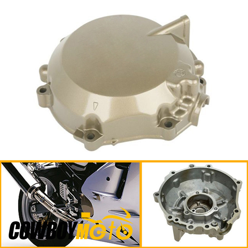 Motorcycle Left Engine Stator Cover Crankcase For Kawasaki Ninja ZX12 ZX-12R 2002 - 2006 03 04 05 Motorbike Parts Aluminum lifan 125 125cc engine left crankcase stator rotor casing case dirt bike atv
