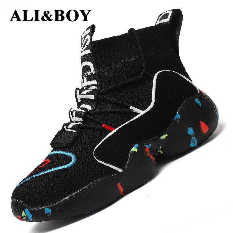 Alta zapatos para correr para hombres botas de mujeres invierno térmico zapatos de los hombres de las mujeres forro de piel Zapatos de deporte de hombre Atlético zapatillas de deporte