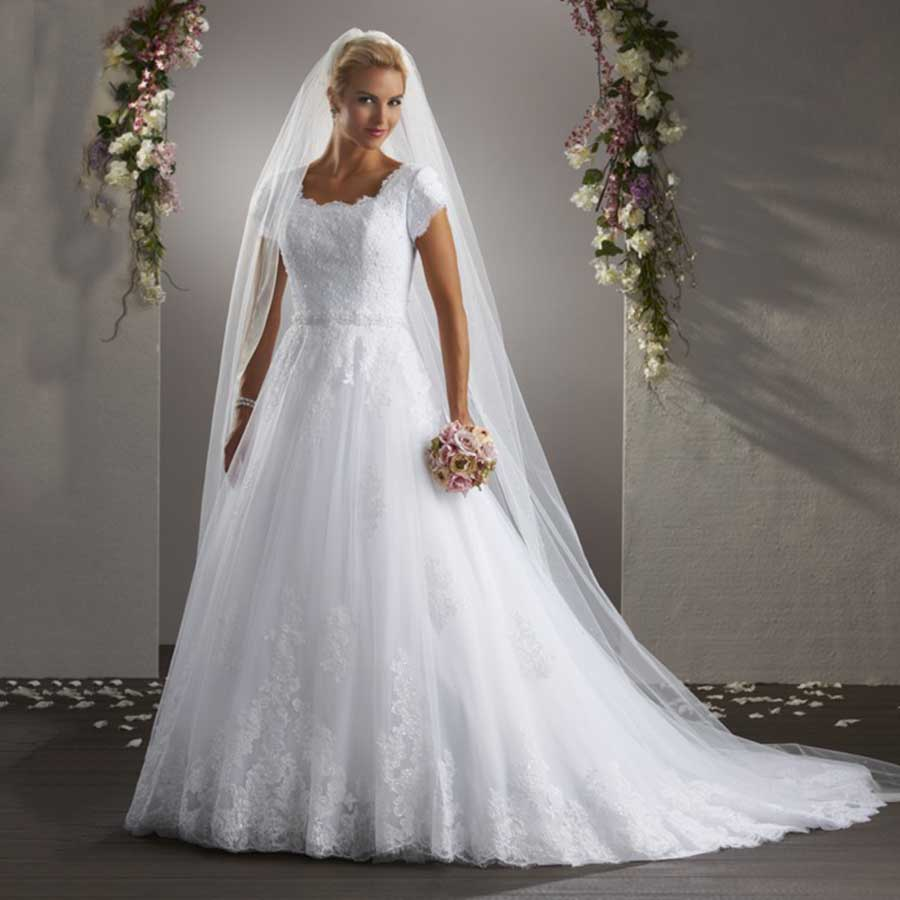 Popular Modest Bridal Gown Buy Cheap Modest Bridal Gown