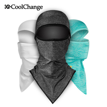 CoolChange Ice Fabric Bicycle Cap Anti-UV Sunshade Bike Face Mask Headwear Cycling Bandana Fishing Sports Hat Scarf