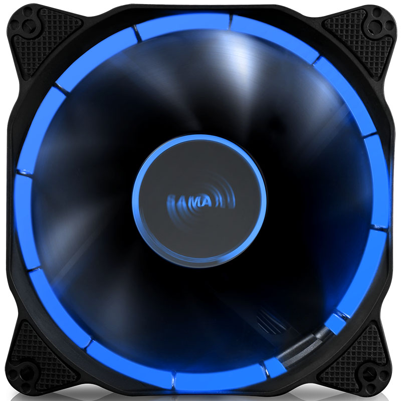 SAMA Halo 12CM Chassis Fan Ring monochromatic iris Gaming atmosphere low noise Efficient heat dissipation Flame retardant segotep halo 12 silent casing fan