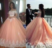 Розовое Бальное платье Бальные платья 2021 вырез лодочкой Аппликация