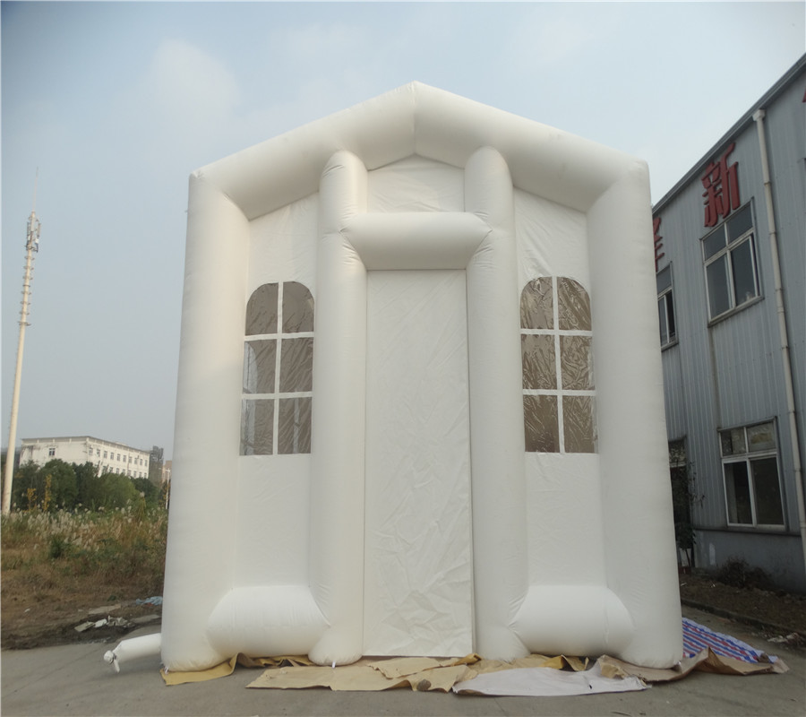 Factory inflatable tent for outdoor use durable and popular large inflatable tent