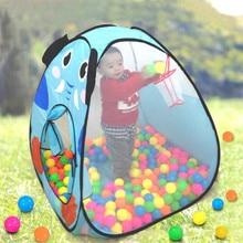 Baby Play Tent Child Kids Outdoor Indoor Cartoon Animals Ocean Ball Tent Fun Garden House Kids OFS034